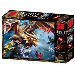 Пазлы - 3D Пазл 500 элементов «Клан дракона» 6+, 0