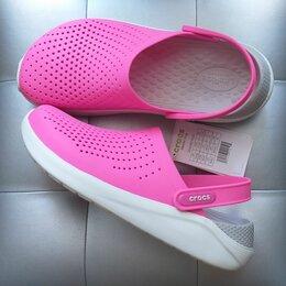 Шлепанцы - Crocs LiteRide Electric Pink, 38, 39, 0