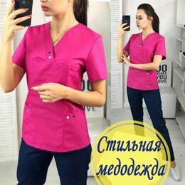 Одежда и аксессуары - Женский медицинский костюм в 3-х цветах, 0
