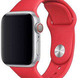 Ремешки для умных часов - Ремешок для Apple Watch 42/44 мм Silicone Красный, 0