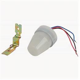 Датчики света - Датчик движения DF 302  ЭРА Фотореле серый, макс. нагрузка 2200 ВА IP44, 0