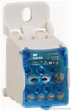 Распределительный блок на DIN-рейку РБД-80А IEK (1/6) по цене 323₽ - Товары для электромонтажа, фото 0