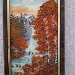 Картины, постеры, гобелены, панно - Продаю картину янтарная крошка, 22х13, 0