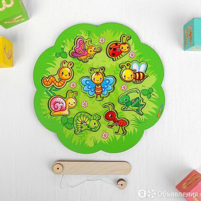 Магнитная рыбалка для детей «Насекомые» по цене 658₽ - Развивающие игрушки, фото 0