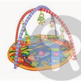 Развивающие коврики - Коврик с дугами для малышей малышей и погремушками, 0