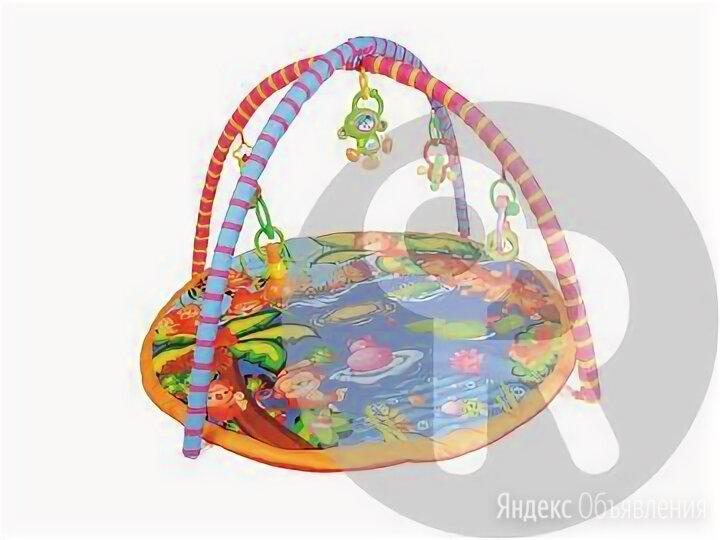 Коврик с дугами для малышей малышей и погремушками по цене 1850₽ - Развивающие коврики, фото 0