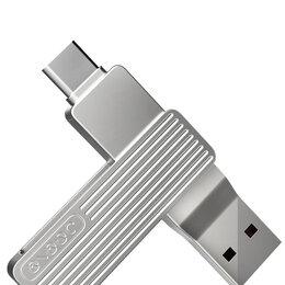 Карты памяти - Флеш накопитель Jesistech M1 USB - Type-C 32Gb - серебристый, 0