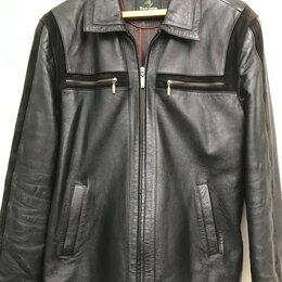 Куртки - Куртка мужская демисезонная,кожаная., 0