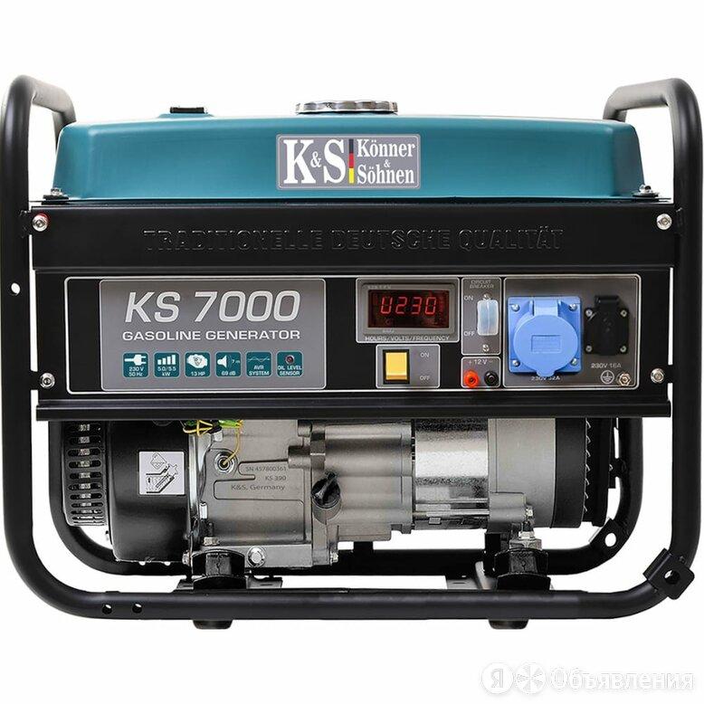 Бензиновый генератор Konner&Sohner KS 7000 по цене 58949₽ - Насосы и комплектующие, фото 0