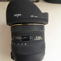 Объективы - Sigma 10-20mm 3.5 ex dc for Nikon, 0