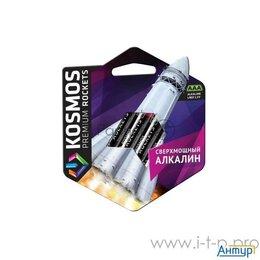 Батарейки - Элемент питания алкалиновый Lr03 Kosmos Premium Rockets  блист. 4шт  Космос K..., 0
