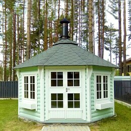 """Готовые строения - Беседка для дачи """"Summer House 12"""", 0"""