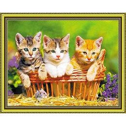 Настольные игры - Котята в корзинке Артикул : SGA 2671, 0