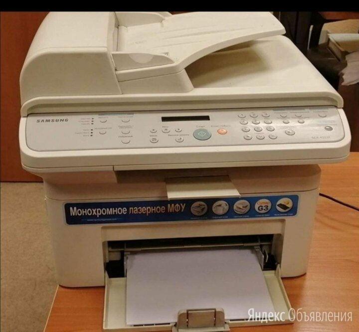 Мфу Лазерное Samsung 4521F по цене 3000₽ - Принтеры, сканеры и МФУ, фото 0
