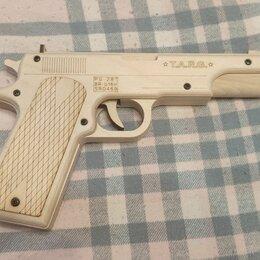 Сборные модели - Деревянный макет пистолета combat, 0