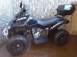Электромобили - Детский квадроцикл электромобиль черный, 0