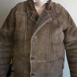 Дубленки и шубы - Утепленная кожаная куртка дублёнка, 0