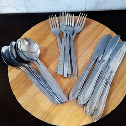 Столовые приборы - Столовые приборы из нержавейки (ложки, вилки, ножи), 0