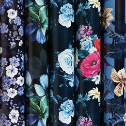 Подарочная упаковка - Бумага упаковочная мелованная 70х100 см ЗОЛОТАЯ СКАЗКА «Night Flowers», 5 дизайн, 0