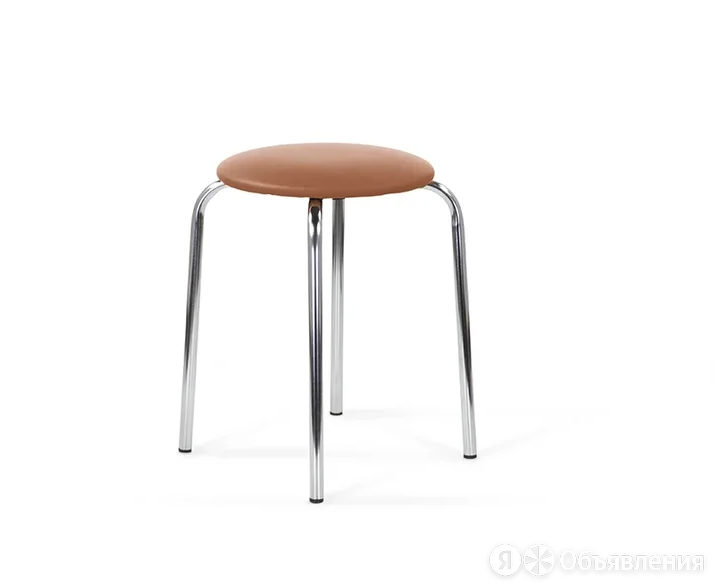 Табурет круглый хром по цене 1045₽ - Мебель для кухни, фото 0