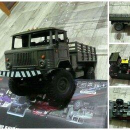 Радиоуправляемые игрушки - ГАЗ-66 машинка игрушка грузовик на радиоуправлении, 0