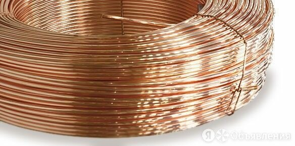 Бронзовая Проволока ф 1,5 БРКМЦ3-1 по цене 150₽ - Металлопрокат, фото 0