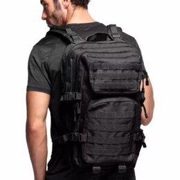 Рюкзаки - Чёрный рюкзак походный, 0