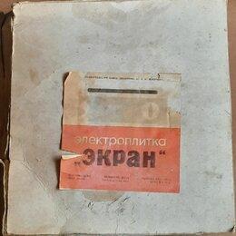 """Плиты и варочные панели - Электроплитка """" ЭКРАН """" 1980 г. упаковка руководство, не использовалась, 0"""