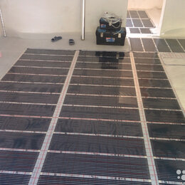 Электрический теплый пол и терморегуляторы - Тёплый пол Rexva 100-220/1м.п, 0