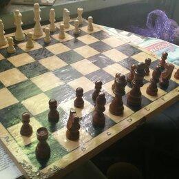 Настольные игры - Шахматы дерево 40*40см, 0