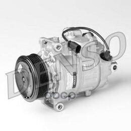 Отопление и кондиционирование  - Компрессор Кондиционера Audi: A8 4.2tdi Quattro 02-10, Q7 4.2tdi 06- Denso ар..., 0