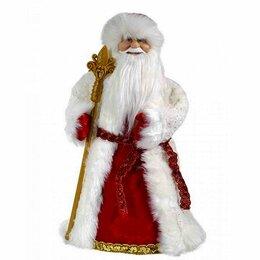 Наука и образование - Дед Мороз Бело-красный костюм 50см, 0