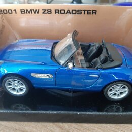 Машинки и техника - Коллекционная модель автомобиля BMW Z8 roadster 1:24, 0