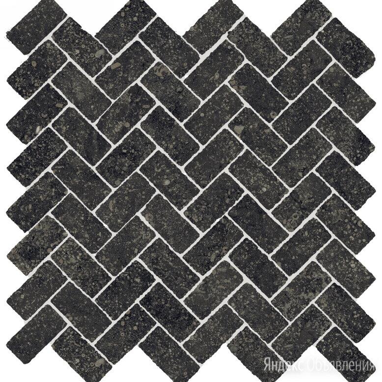 Плитка Италон Room 620110000099 Stone Black Mosaico Cross Cer Мозаика  31.5x29.7 по цене 1220₽ - Керамическая плитка, фото 0