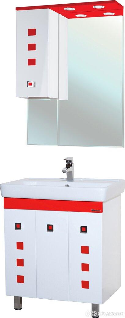 Мебель для ванной Bellezza Натали 70 белая с красным по цене 13852₽ - Кровати, фото 0