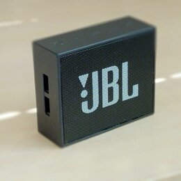 Портативная акустика - Колонка Jbl Go черная, 0