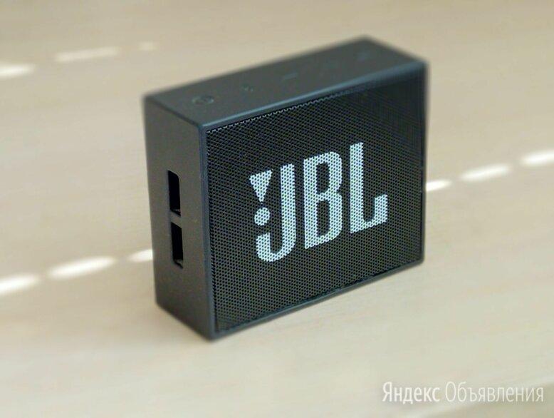Колонка Jbl Go черная по цене 800₽ - Портативная акустика, фото 0