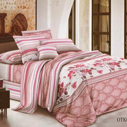Постельное белье - Комплект постельного белья Здоровый Сон Евро сатин, 0