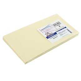 Конверты и почтовые карточки - Курт Набор конвертов С65, 114 х 229 мм, без окна,силиконовая лента, кремовая ..., 0
