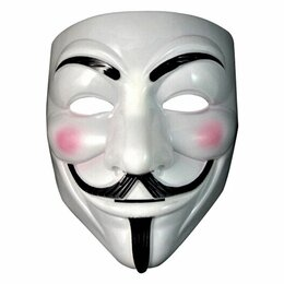 Карнавальные и театральные костюмы - Маска Гай Фокс V - Вендетта Анонимуса, 0
