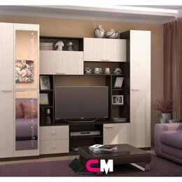 Шкафы, стенки, гарнитуры - Гостиная Марта М новая , 0
