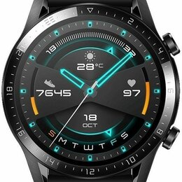 Умные часы и браслеты - Смарт-часы Huawei Watch GT 2 Sport 46mm Матовый черный, 0