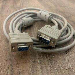 Компьютерные кабели, разъемы, переходники - Удлинитель vga 3м, 0