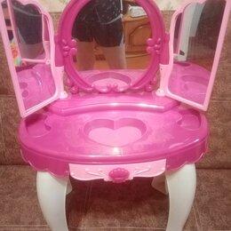 Игрушечная мебель и бытовая техника - Детский туалетный столик , 0