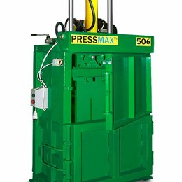 Пресс-станки - Пресс для картона, бумаги, обрезков, полиэтилена пакетировочный PRESSMAX™ 506, 0