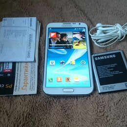 Мобильные телефоны - Samsung Galaхy Note II GT-N7100, 0