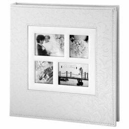 Фотоальбомы - Фотоальбом BRAUBERG свадебный, 20 магнитных…, 0
