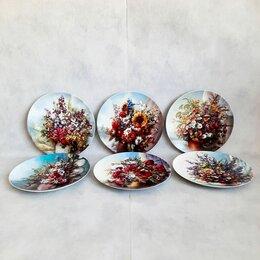 Декоративная посуда - Шесть настенных тарелок Rosenthal, Германия, 0
