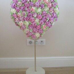Украшения для организации праздников - Сердечко (сердце) из цветов, 0