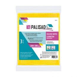 Средства для интимной гигиены - Салфетки вискозные универсальные, 300 x 380 мм, 3 шт., Home Palisad, 0